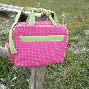Handbags - Polka dot laptop bag